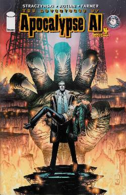 Apocalypse Al #4 Cover A- Kotian & Farmer [Comic] LARGE