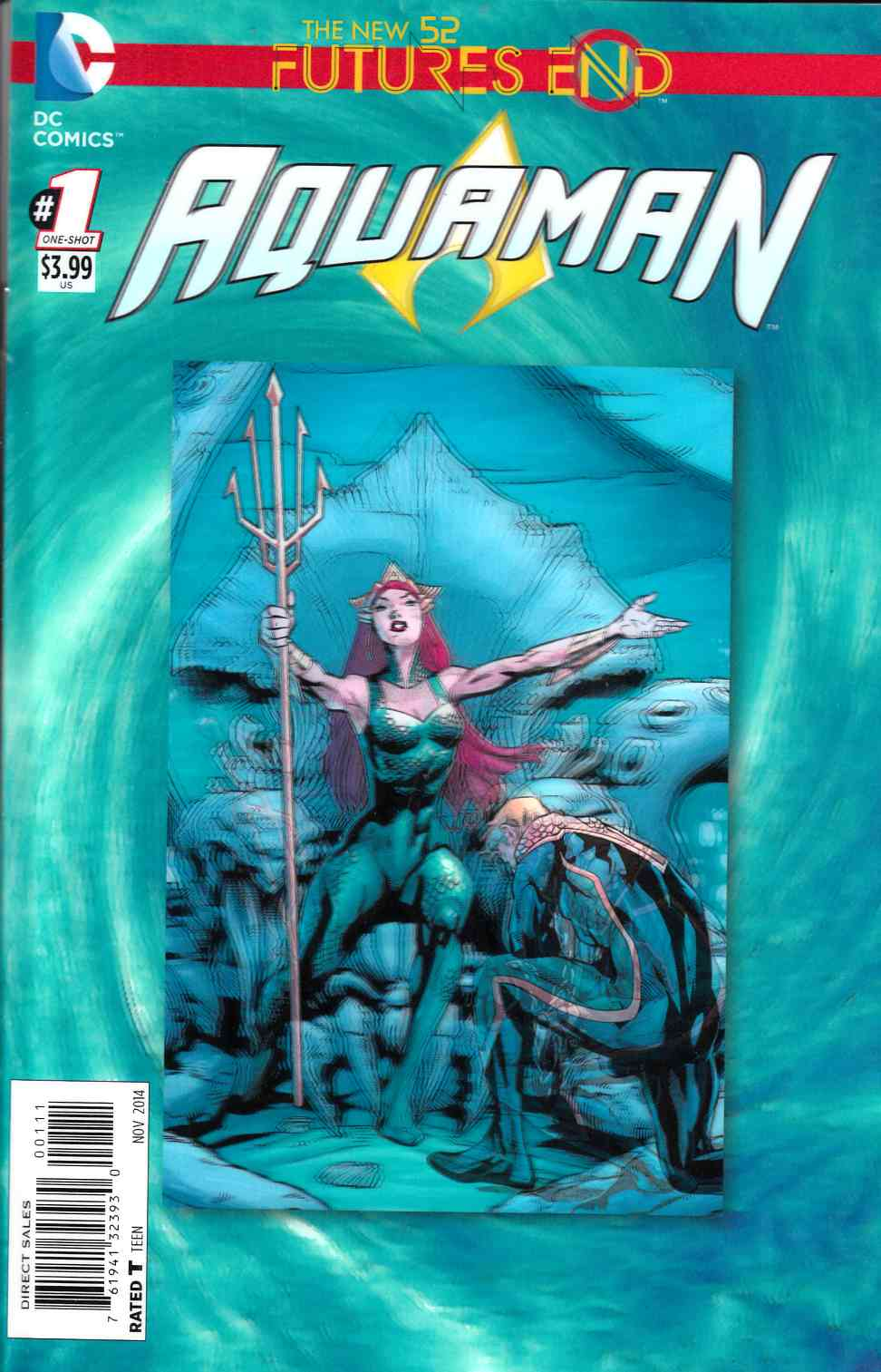 Aquaman Futures End #1 3D Edition [Comic] LARGE