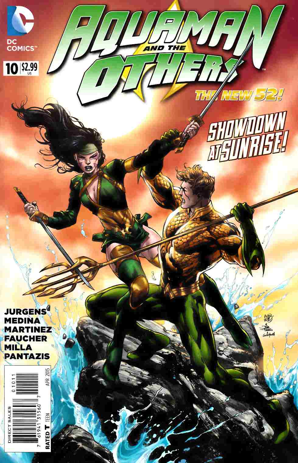 Aquaman and the Others #10 [DC Comic] THUMBNAIL