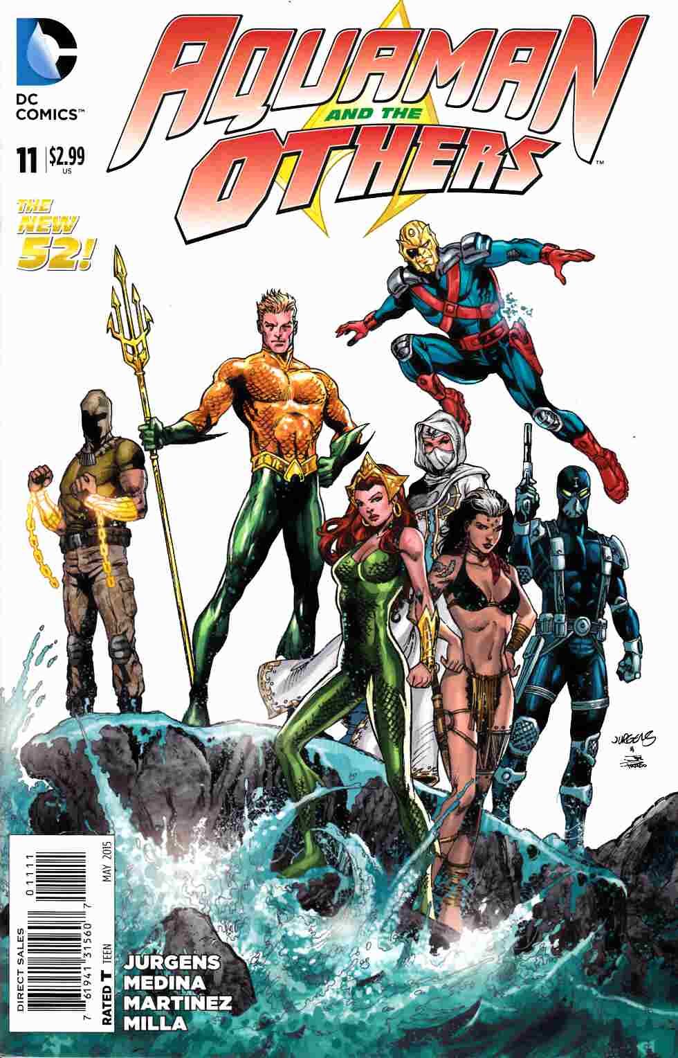 Aquaman and the Others #11 [DC Comic]_THUMBNAIL