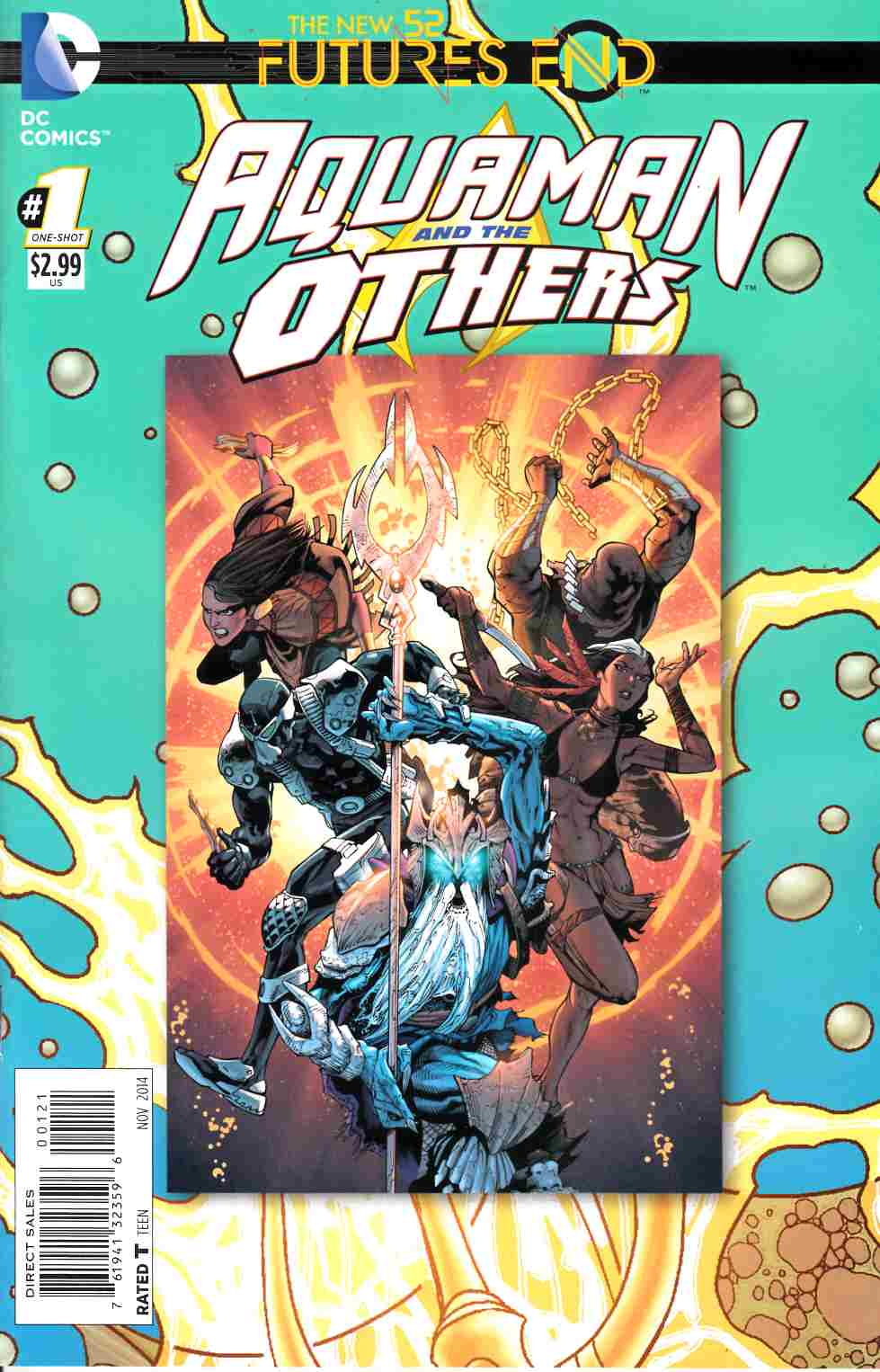 Aquaman and the Others Futures End #1 Standard Edition [Comic]_THUMBNAIL