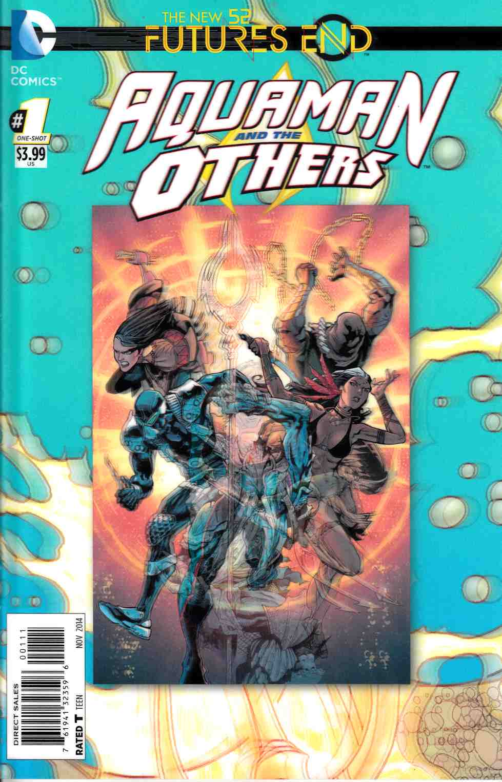 Aquaman and the Others Futures End #1 3D Edition [Comic] THUMBNAIL