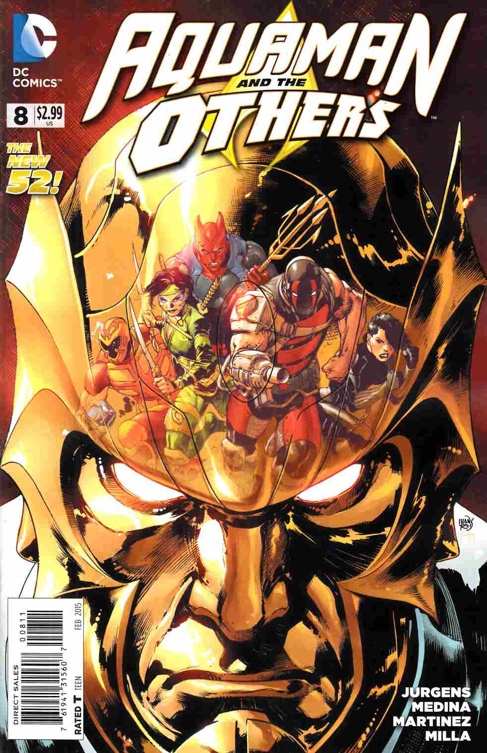 Aquaman and the Others #8 [DC Comic] THUMBNAIL