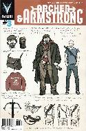 Archer & Armstrong #3 Character Design Cover [Comic] THUMBNAIL