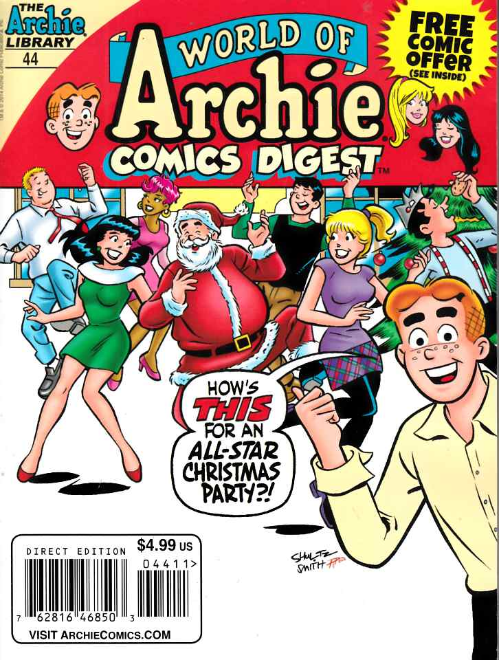 World of Archie Double Digest #44 Near Mint (9.4) [Archie Comic] THUMBNAIL