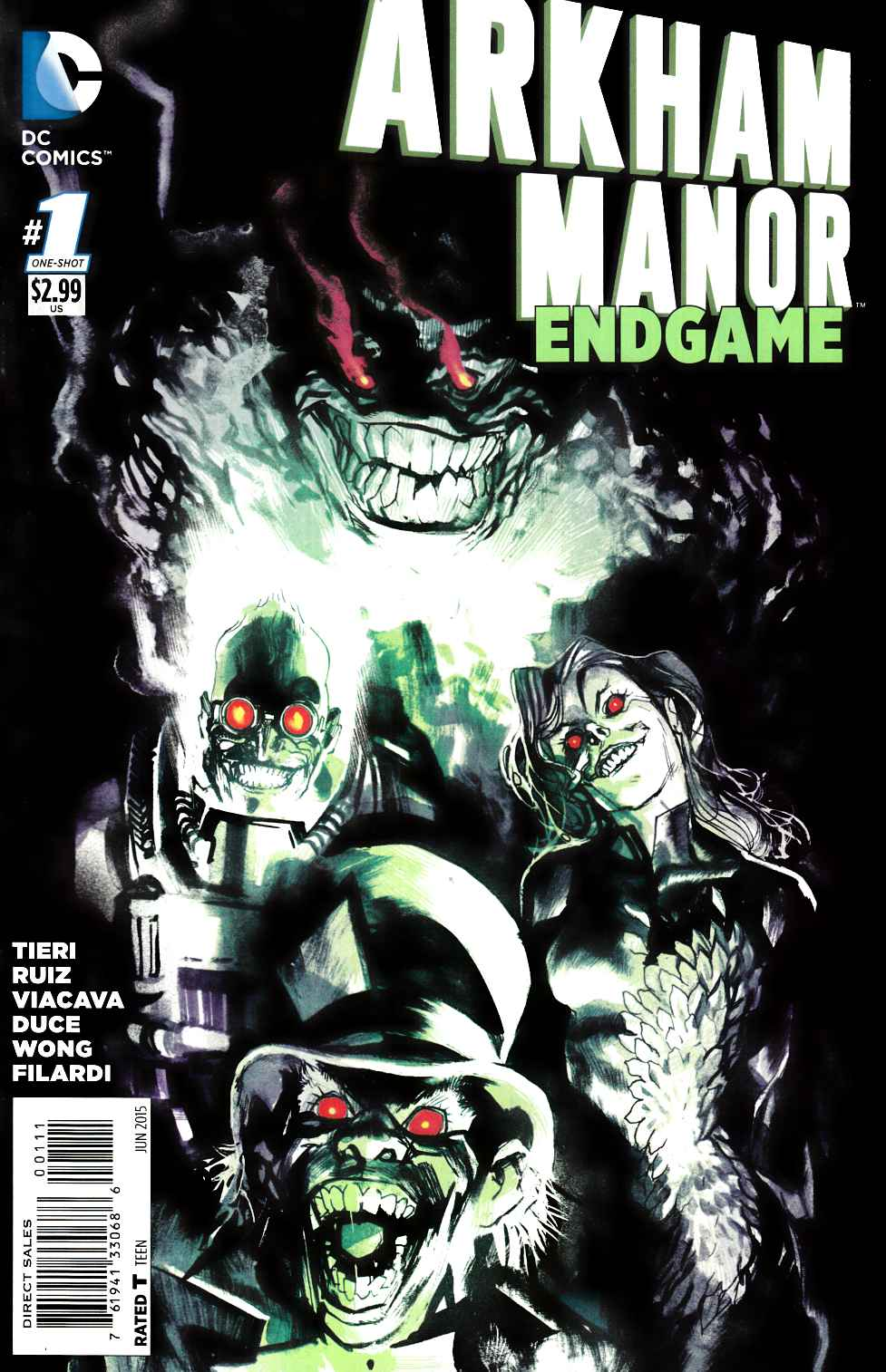 Arkham Manor Endgame #1 [DC Comic] LARGE