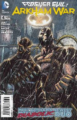 Forever Evil Arkham War #4 [DC Comic] LARGE
