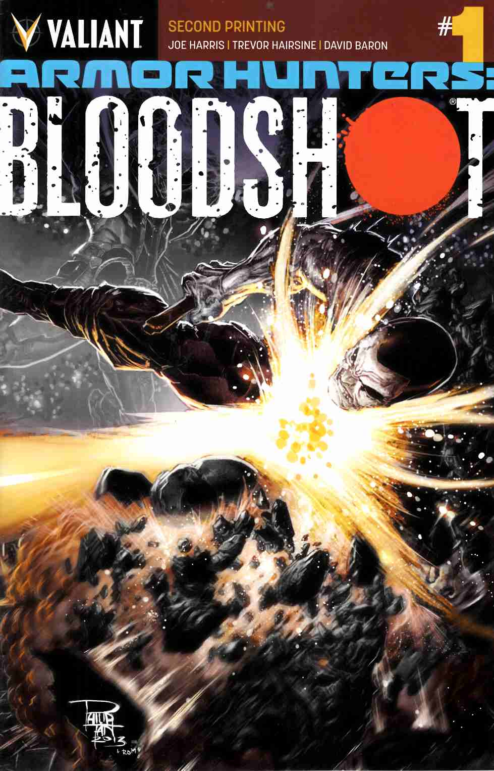 Armor Hunters Bloodshot #1 Second Printing [Comic] THUMBNAIL