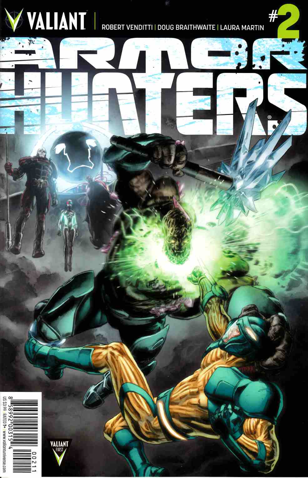Armor Hunters #2 Cover A- Braithwaite [Comic] LARGE