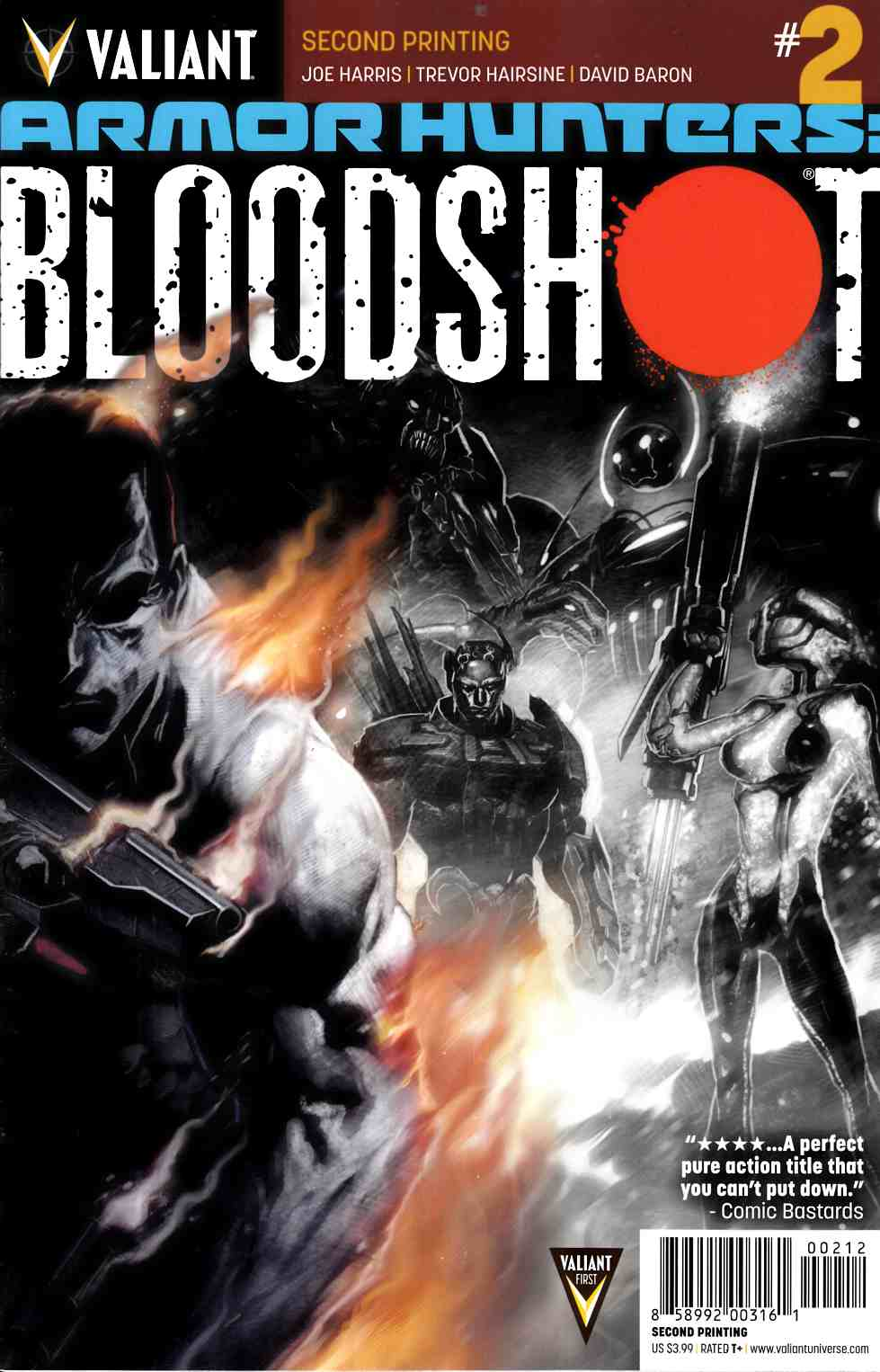 Armor Hunters Bloodshot #2 Second Printing [Comic] LARGE