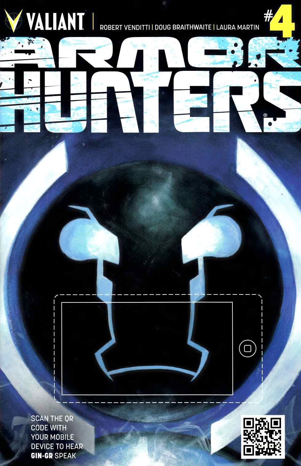 Armor Hunters #4 Cover B- Fowler [Comic] THUMBNAIL