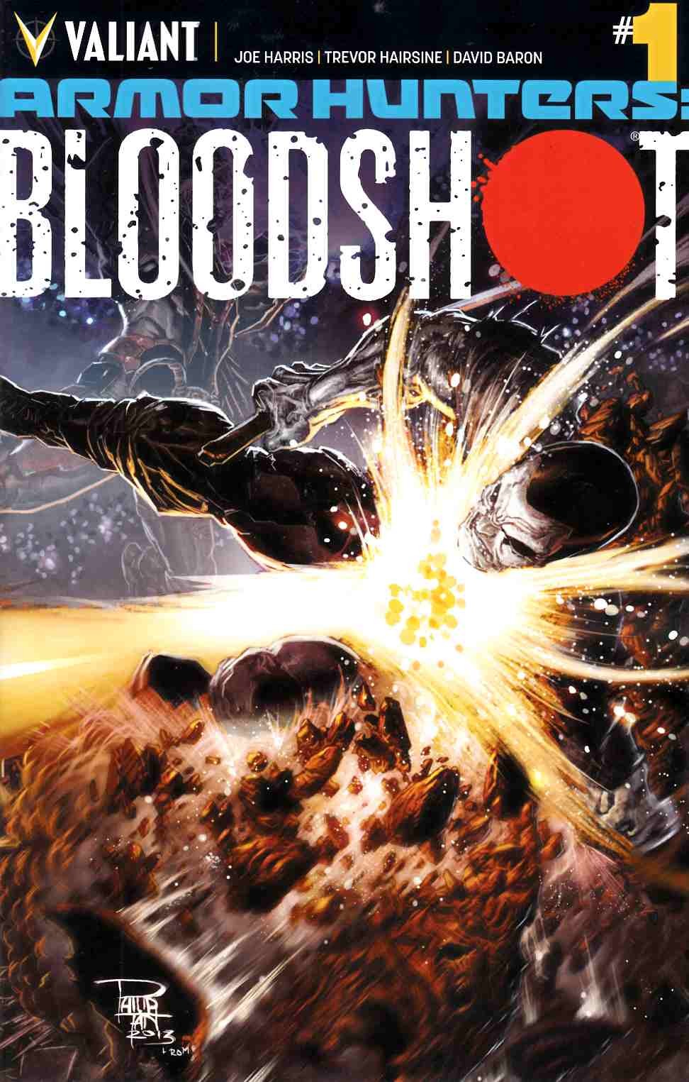 Armor Hunters Bloodshot #1 Cover A [Comic] THUMBNAIL
