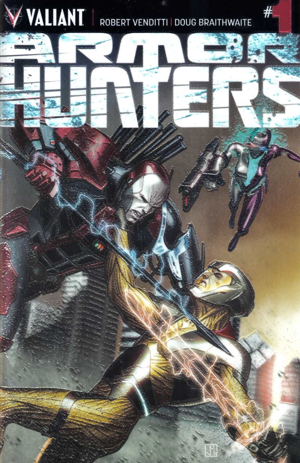 Armor Hunters #1 Chromium Cover [Comic]_THUMBNAIL