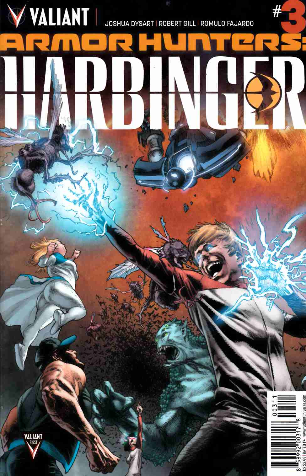 Armor Hunters Harbinger #3 [Valiant Comic] THUMBNAIL