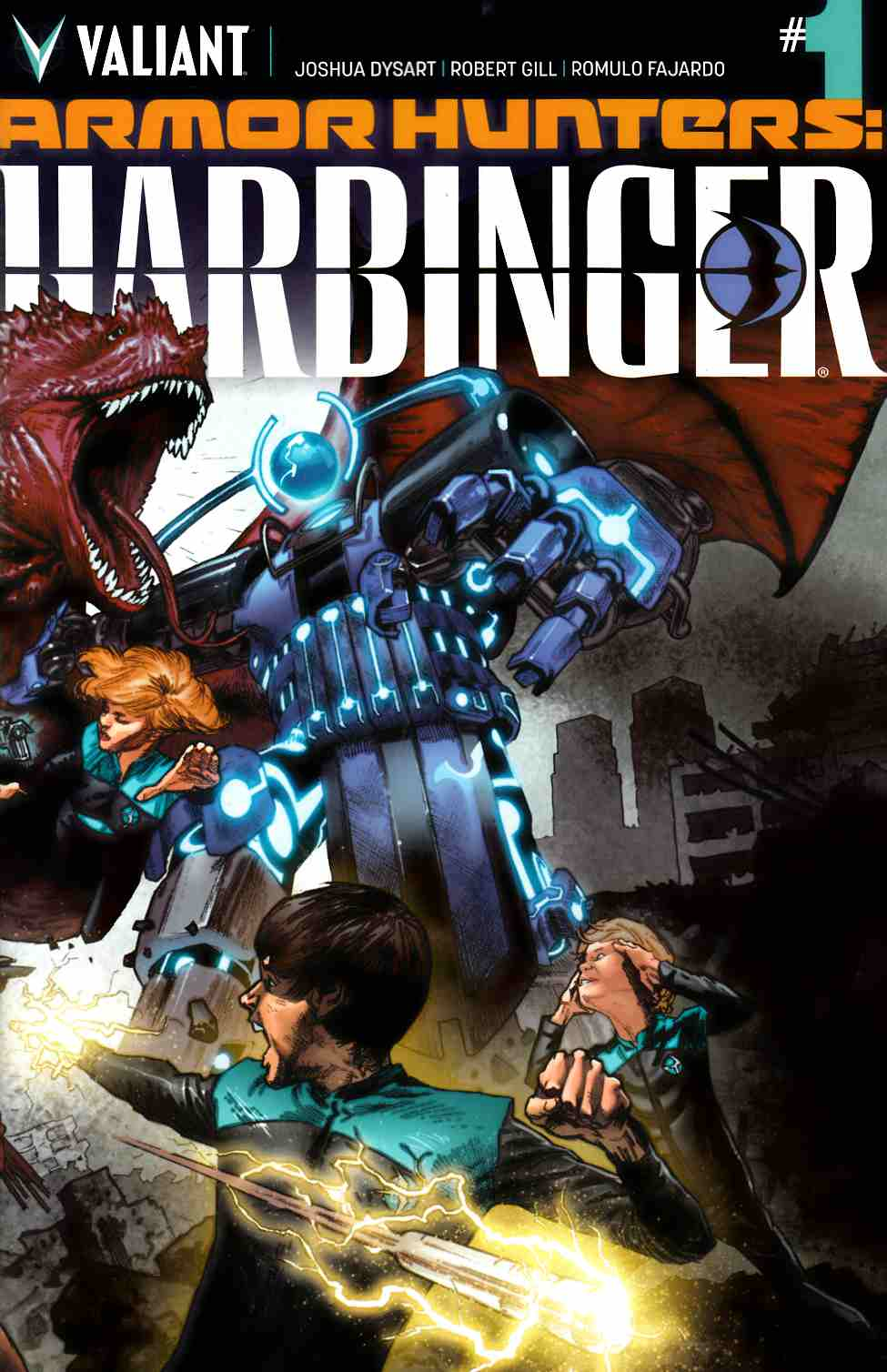 Armor Hunters Harbinger #1 [Valiant Comic]