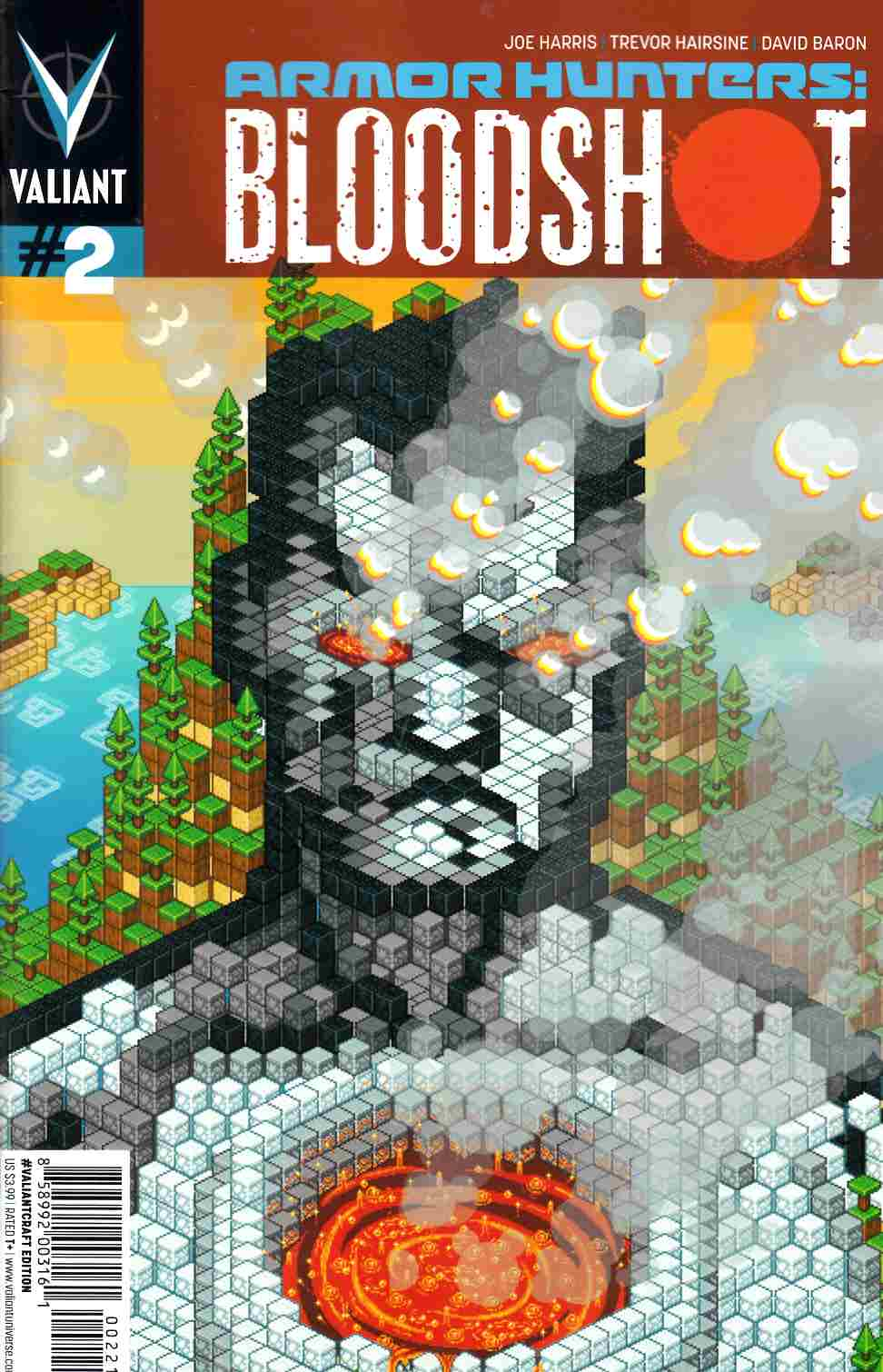 Armor Hunters Bloodshot #2 Valiantcraft Cover [Comic] THUMBNAIL