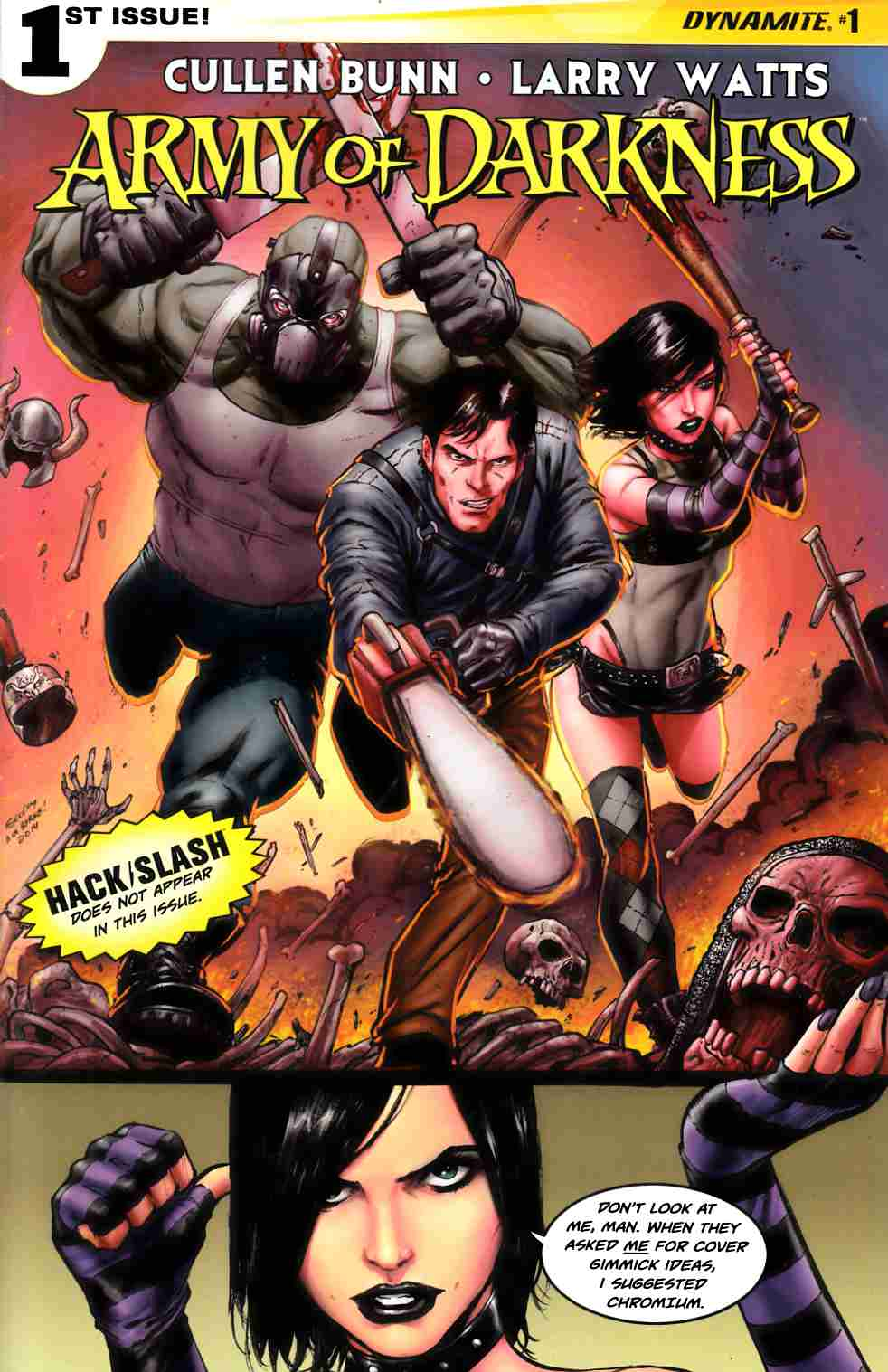Army of Darkness Vol 4 #1 Cover B- Seeley [Dynamite Comic] THUMBNAIL
