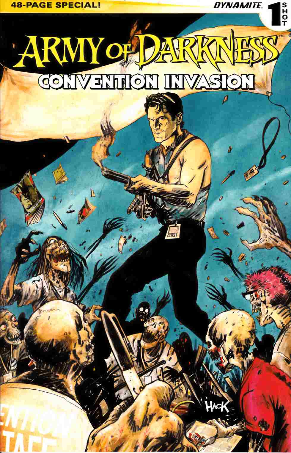Army of Darkness Convention Invasion (One Shot) [Dynamite Comic] LARGE