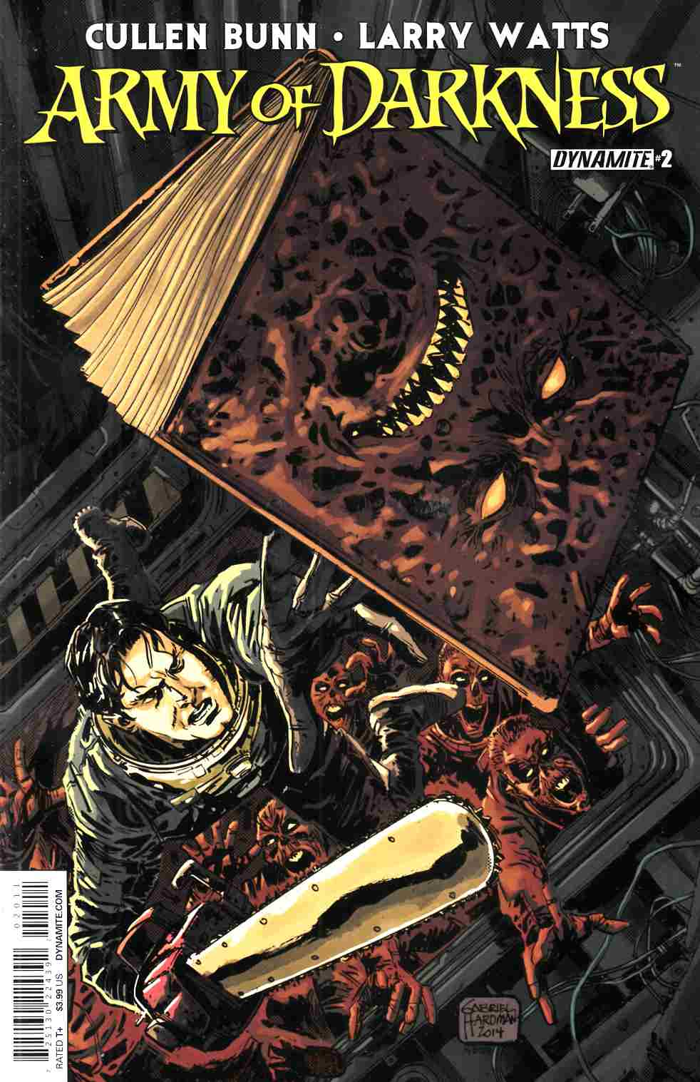 Army of Darkness Vol 4 #2 Cover A- Hardman [Dynamite Comic] THUMBNAIL