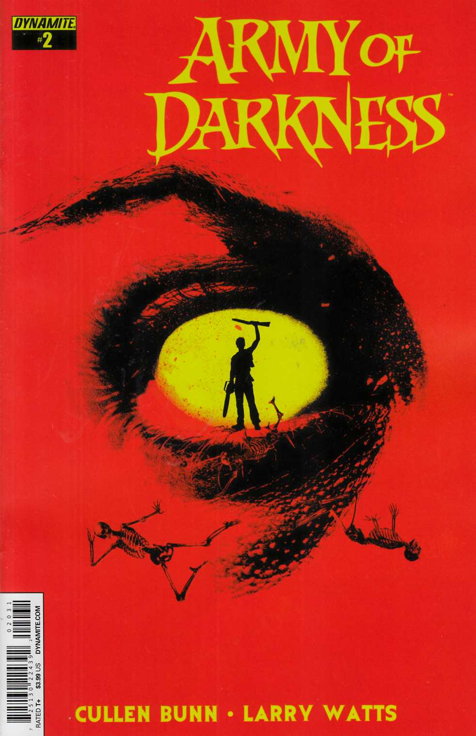 Army of Darkness Vol 4 #2 Cover C- Shaw Subscription [Dynamite Comic] THUMBNAIL