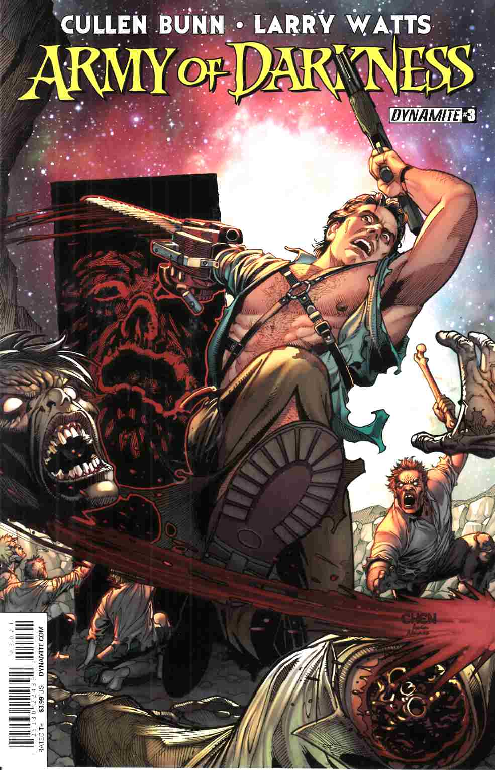 Army of Darkness Vol 4 #3 Cover B- Chen [Dynamite Comic] THUMBNAIL