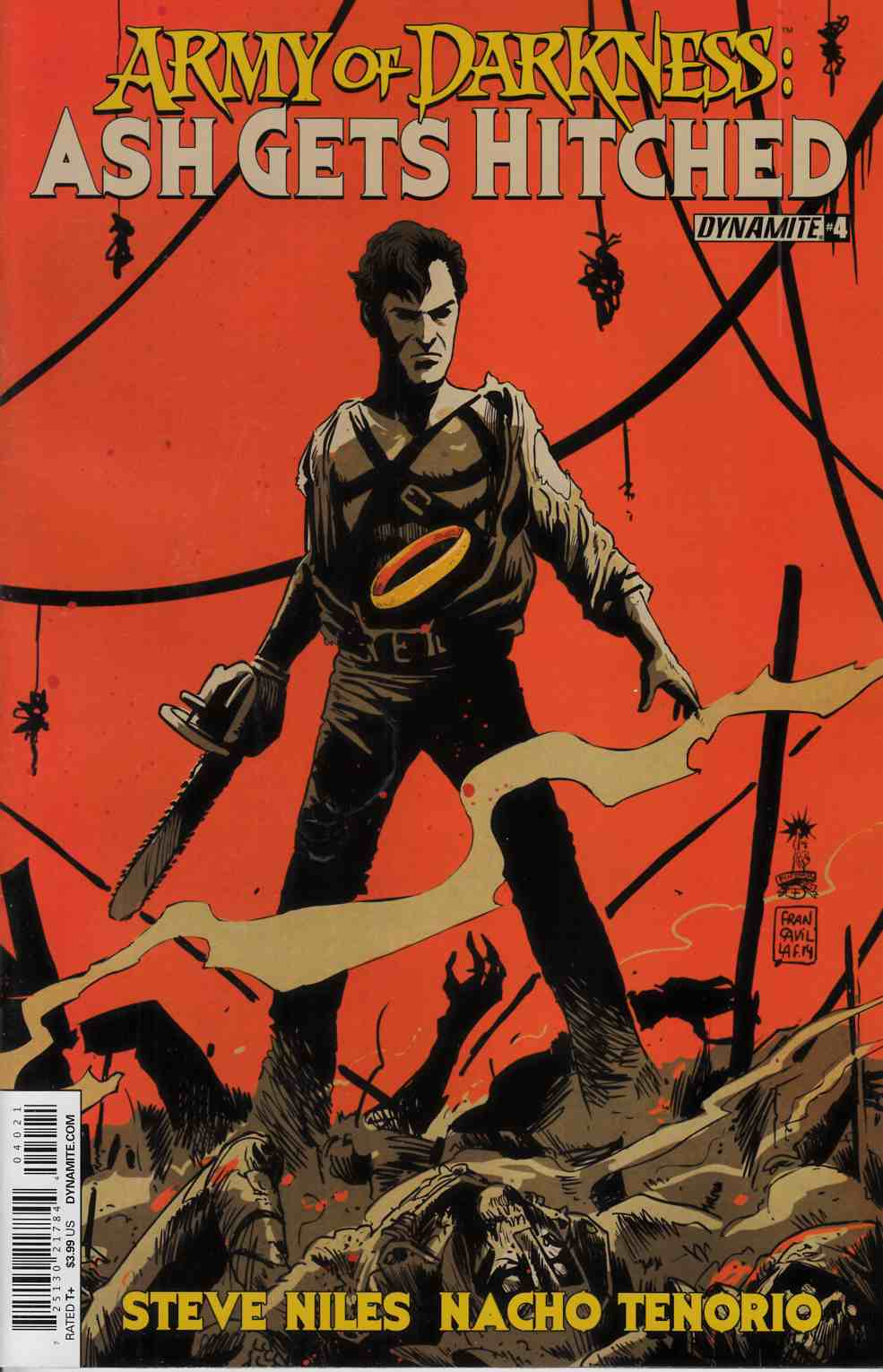 Army of Darkness Hitched #4 Francavilla Cover [Dynamite Comic]_THUMBNAIL