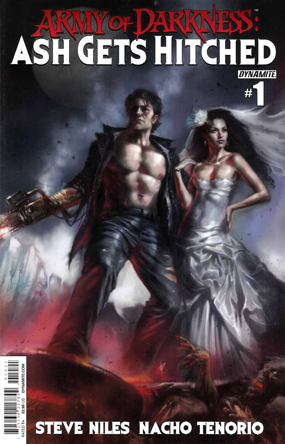 Army of Darkness Ash Gets Hitched #1 Cover A- Parrillo [Comic]_THUMBNAIL