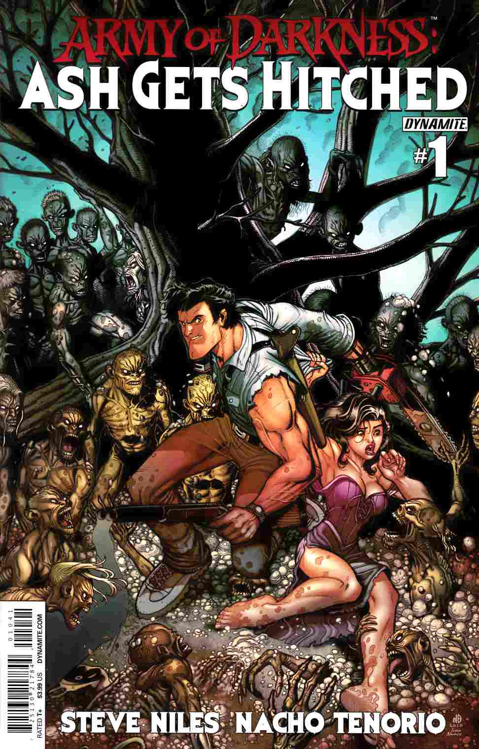 Army of Darkness Ash Gets Hitched #1 Cover C- Bradshaw [Comic] THUMBNAIL