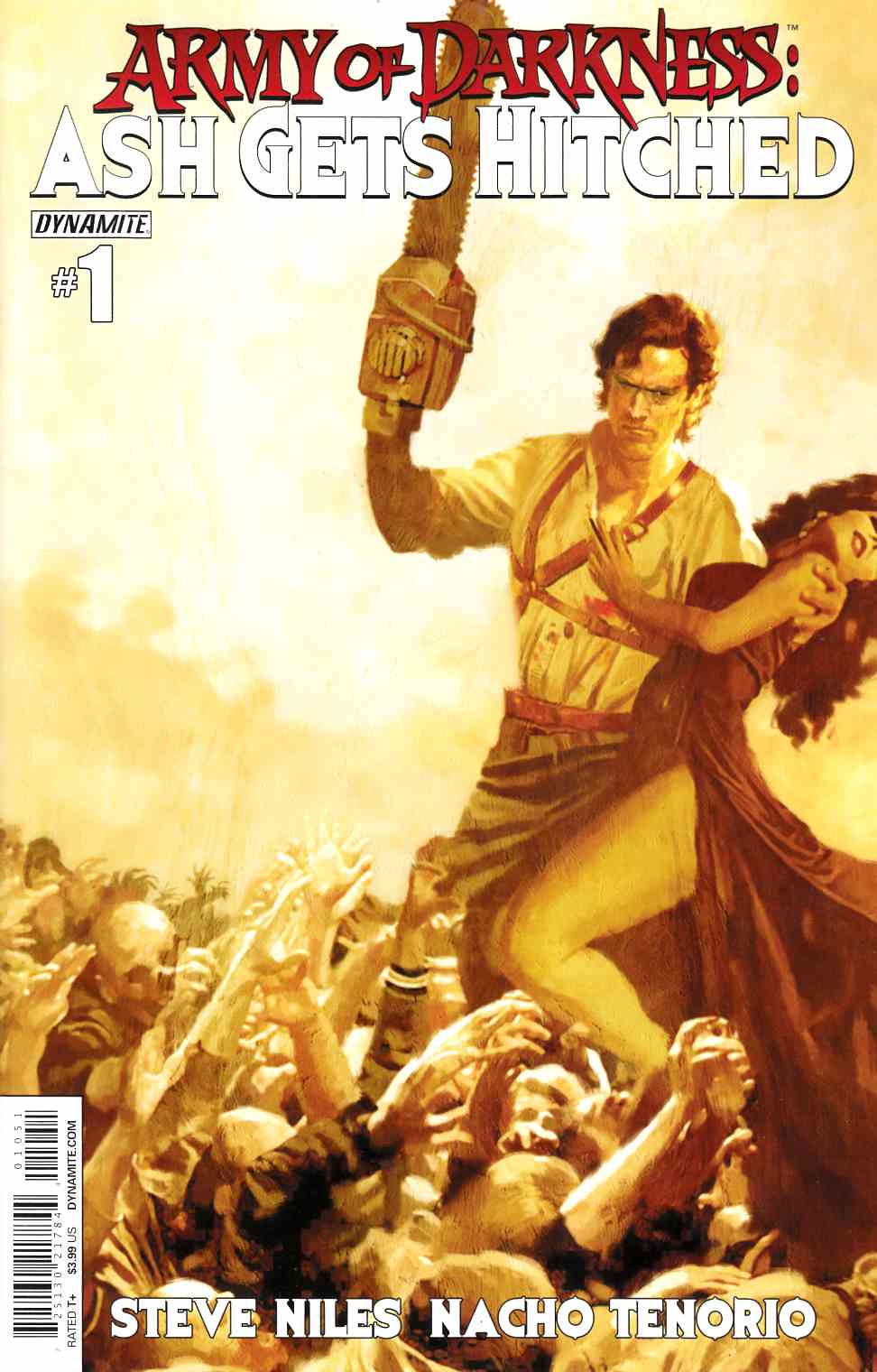 Army of Darkness Ash Gets Hitched #1 Cover D- Suydam [Comic]_THUMBNAIL