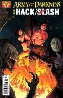 Army of Darkness vs Hack Slash #4 Seeley Cover [Comic] THUMBNAIL