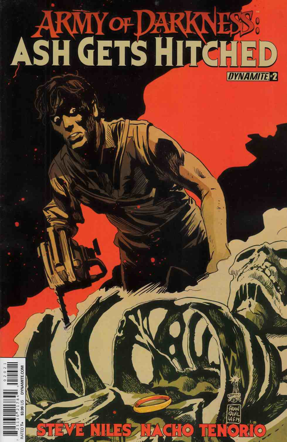 Army of Darkness Hitched #2 Francavilla Cover [Comic] THUMBNAIL