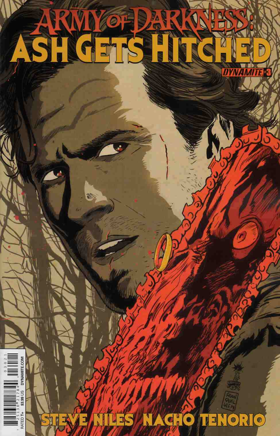 Army of Darkness Hitched #3 Francavilla Cover [Comic] THUMBNAIL