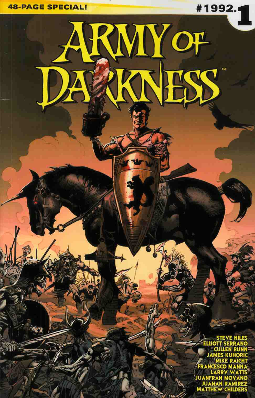 Army of Darkness #1992.1 (One Shot) Cover B- Castro Subscription [Comic] LARGE