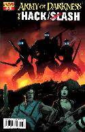 Army of Darkness vs Hack Slash #3 Seeley Cover [Comic] THUMBNAIL