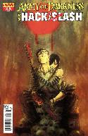 Army of Darkness vs Hack Slash #3 Templesmith Cover [Comic] THUMBNAIL