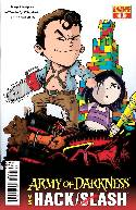 Army of Darkness vs Hack Slash #1 Subscription Cover [Comic] THUMBNAIL
