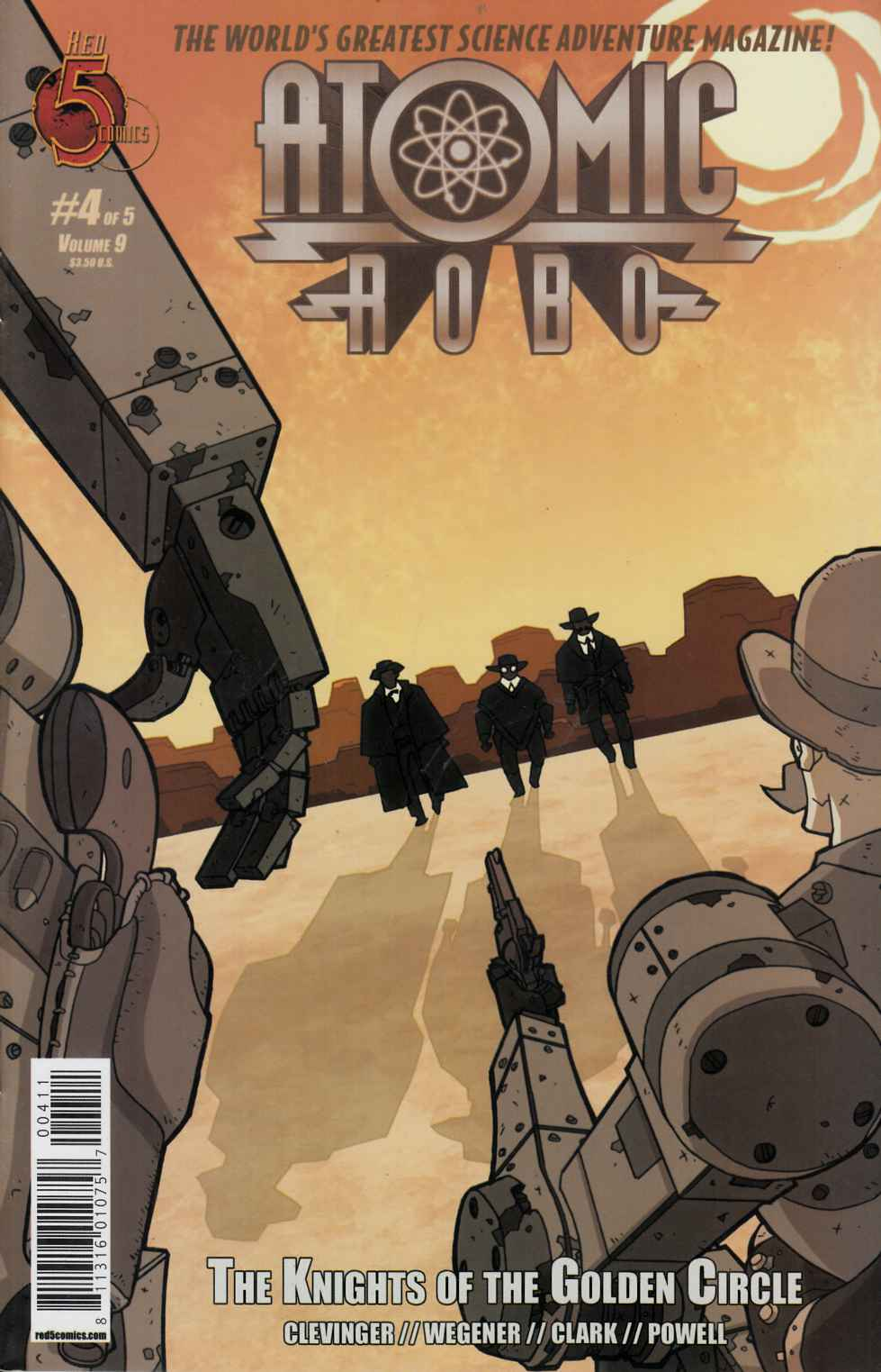 Atomic Robo Knights of the Golden Circle #4 [Comic] THUMBNAIL