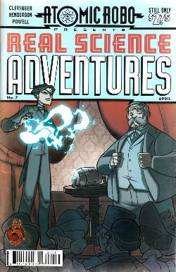 Atomic Robo Real Science Adventure #7 [Comic] LARGE