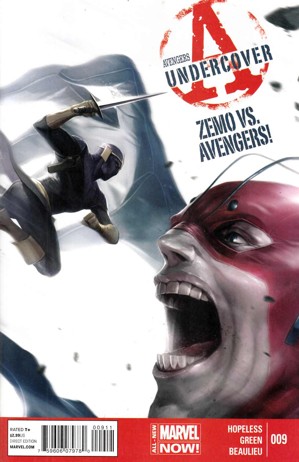 Avengers Undercover #9 [Comic] LARGE