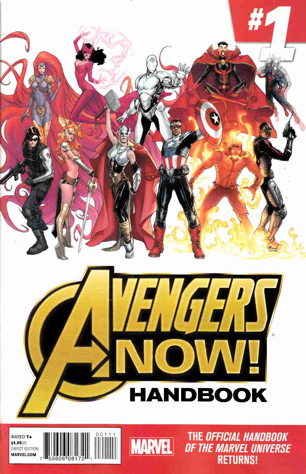 Avengers Now (One Shot) [Marvel Comic] THUMBNAIL