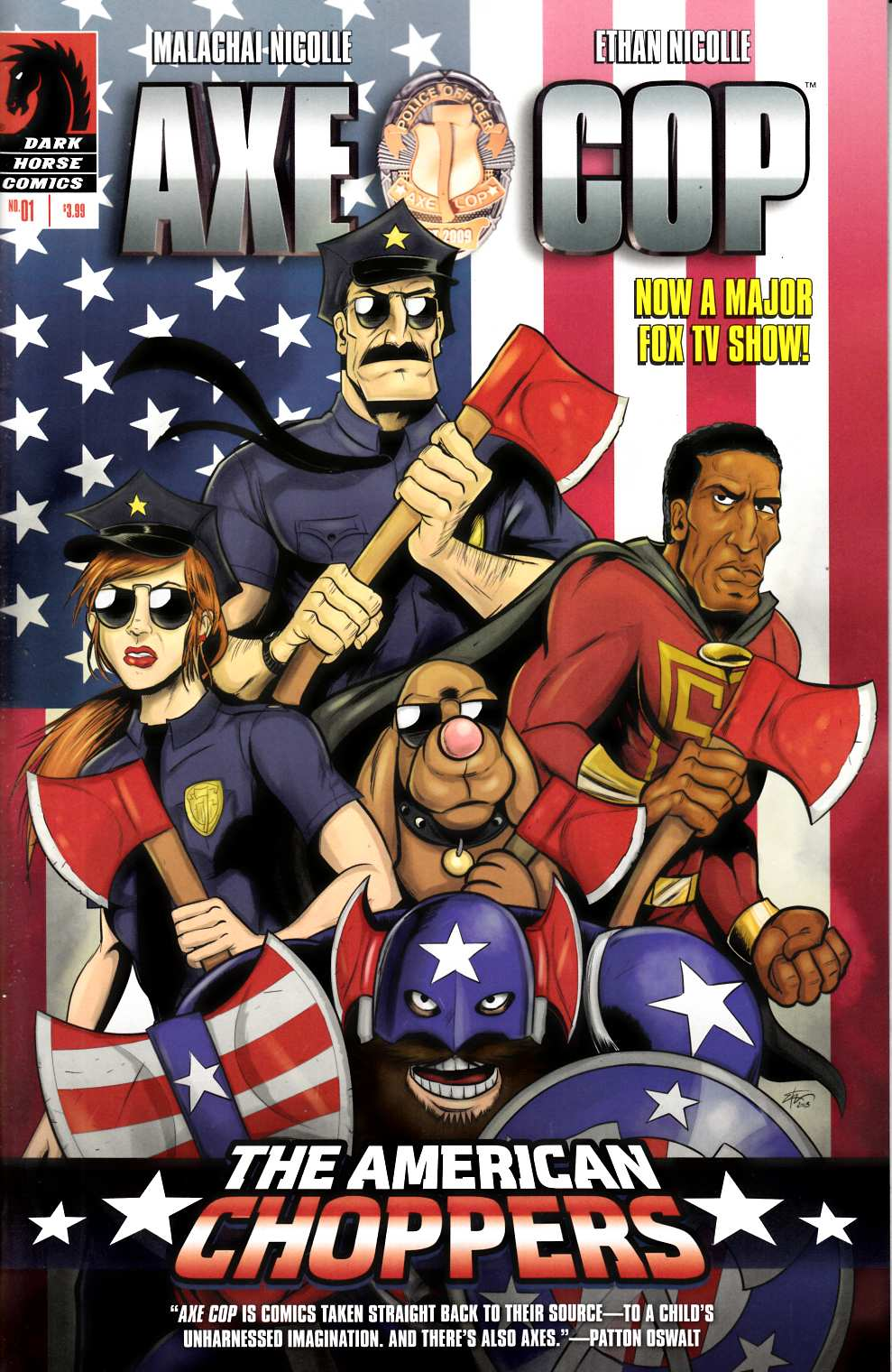 Axe Cop American Choppers #1 [Comic] THUMBNAIL