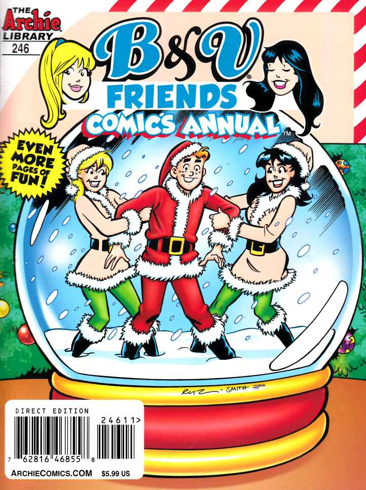 B & V Friends Double Digest #246 Annual Near Mint (9.4) {Archie Comic] THUMBNAIL