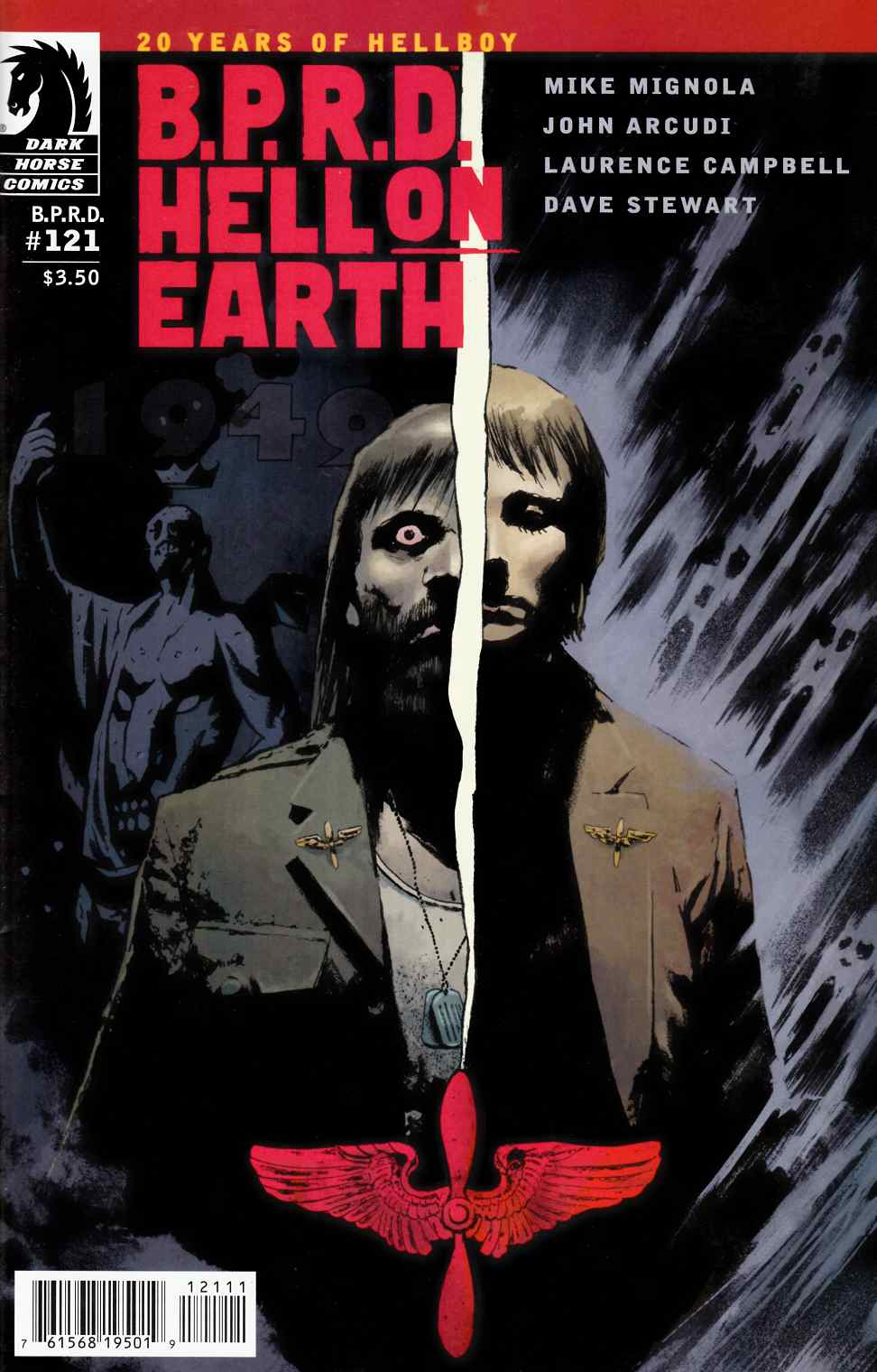BPRD Hell on Earth #121 [Dark Horse Comic] LARGE