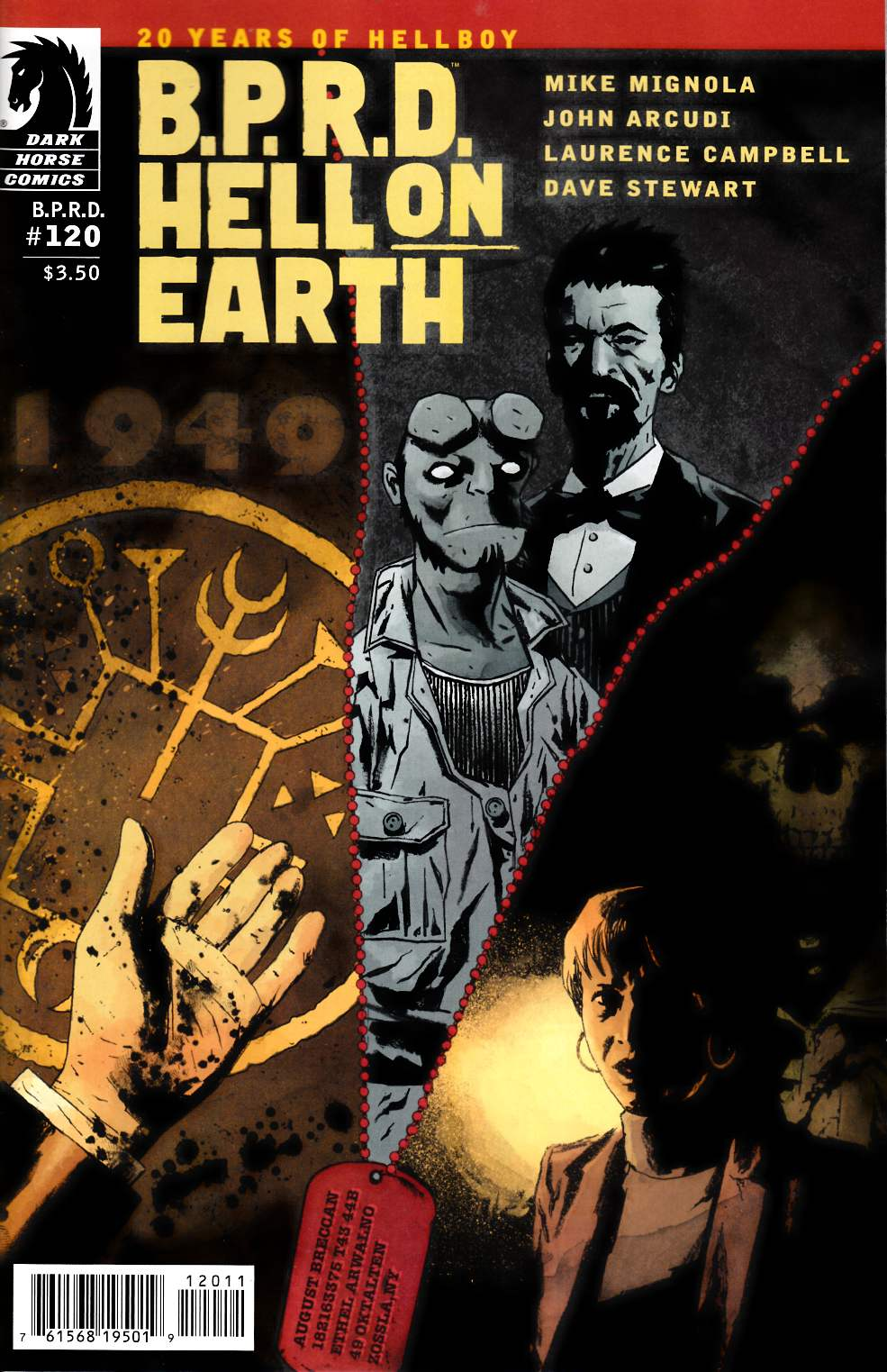 BPRD Hell on Earth #120 [Dark Horse Comic] THUMBNAIL