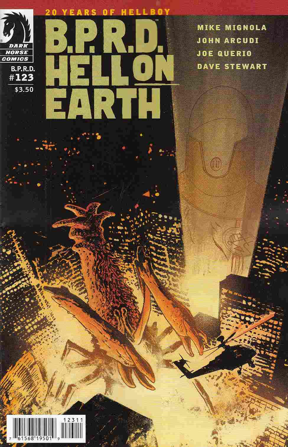 BPRD Hell on Earth #123 [Dark Horse Comic] THUMBNAIL
