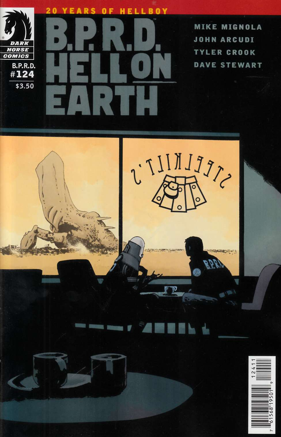 BPRD Hell on Earth #124 [Dark Horse Comic] LARGE