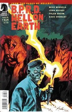 BPRD Hell on Earth #114 [Dark Horse Comic] LARGE