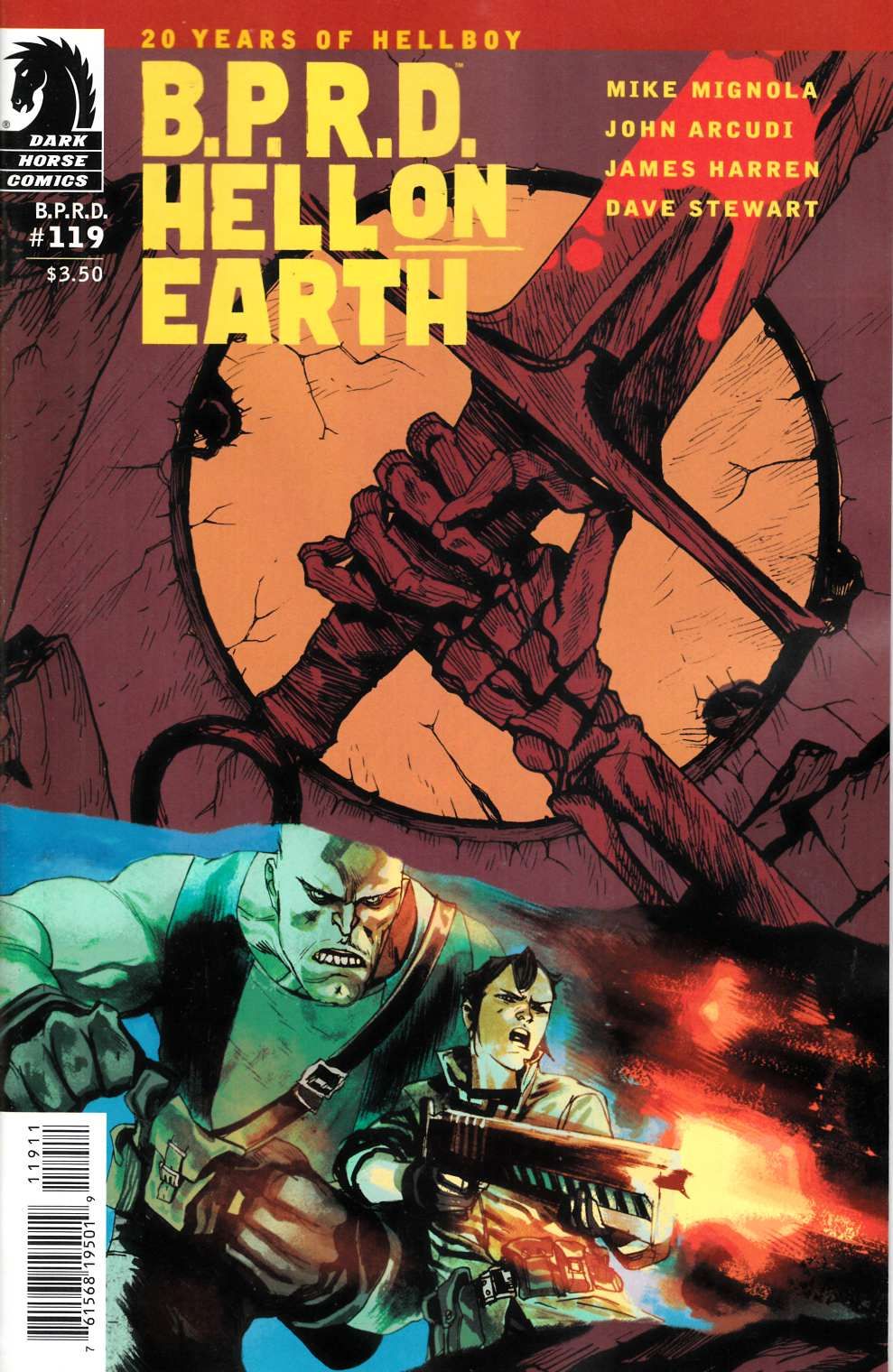 BPRD Hell on Earth #119 [Dark Horse Comic] LARGE