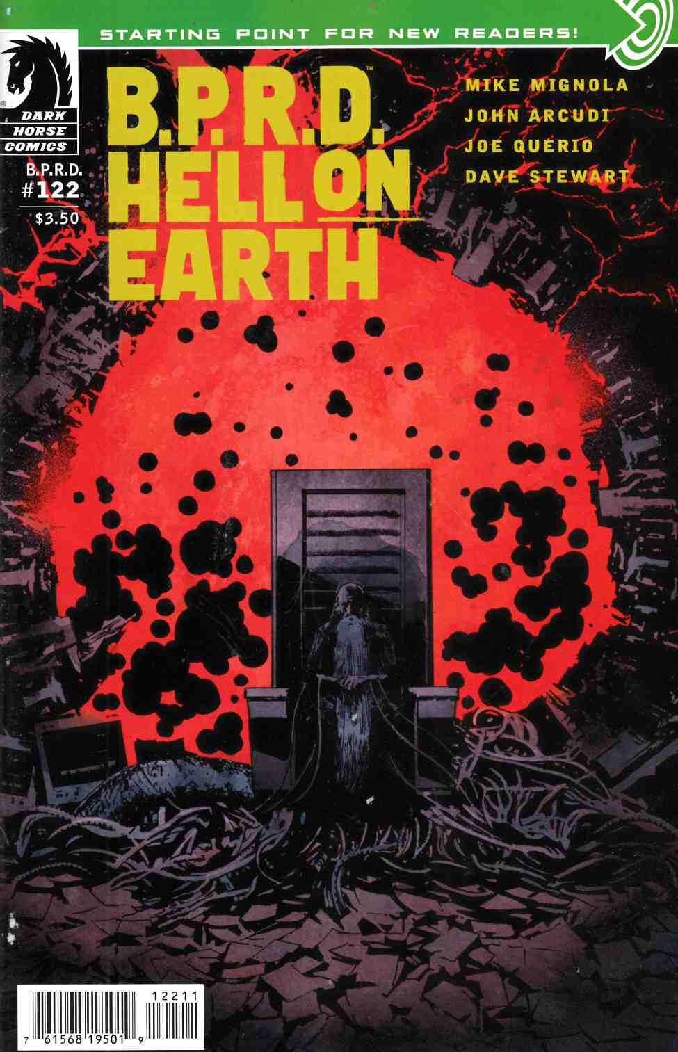BPRD Hell on Earth #122 [Dark Horse Comic] THUMBNAIL