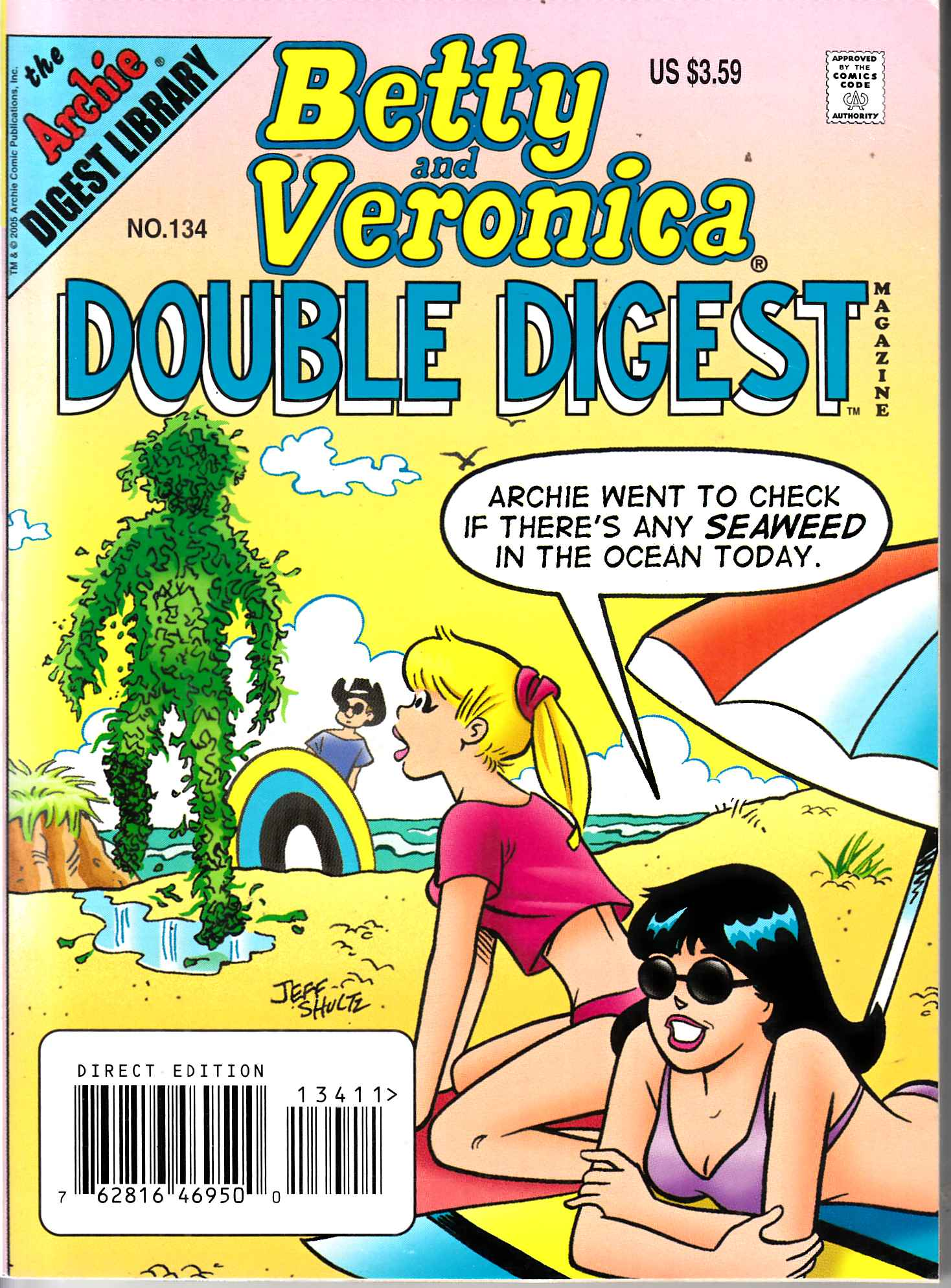 Betty & Veronica Double Digest #134 Fine (6.0) [Archie Comic]